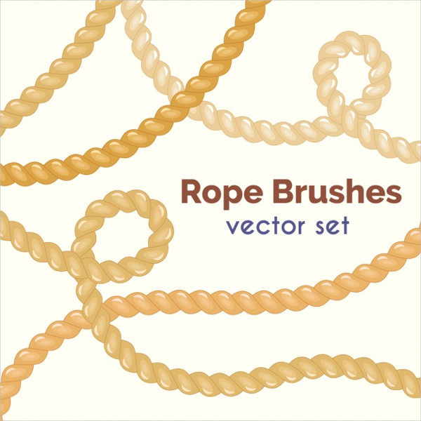Free Colorful Rope Brush Collection