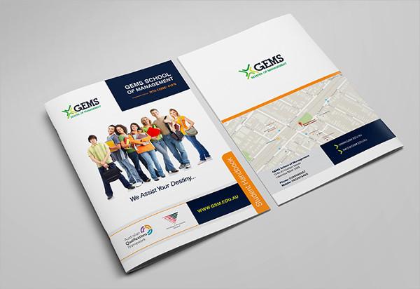 Brochure for Consultancy Firm & University