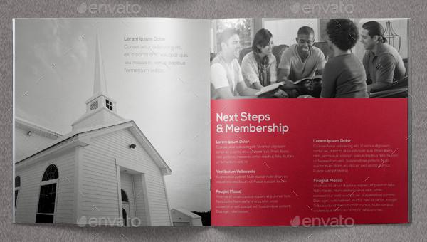 Core Values Church Brochure Design