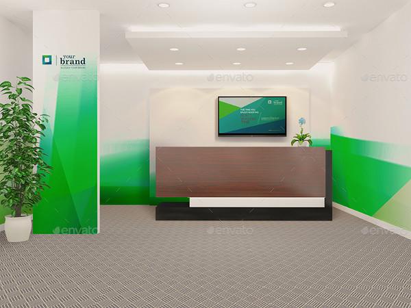 Corporate Office Interior Mockups