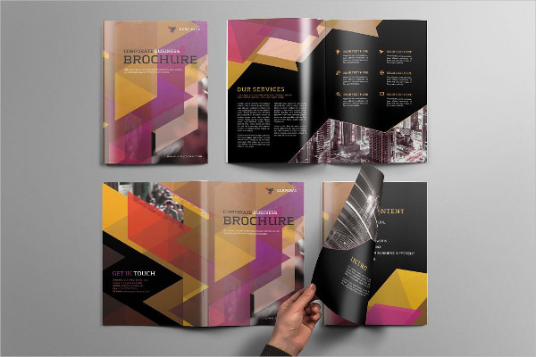 Corporate Sports Brochure Template