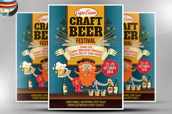 Craft Beer Festival Party Flyer