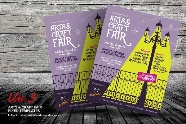 Arts & Craft Fair Flyers