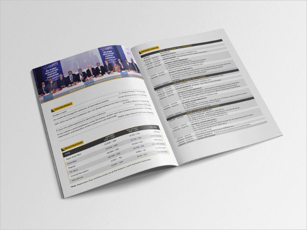 Creative Event Agency Brochure