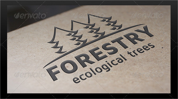 Creative Forestry Logo Template