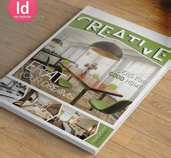 Creative Interior Magazine Template