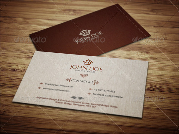 Perfect Royal Business Card