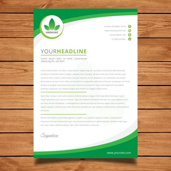 Custom Corporate Letterhead Free Download
