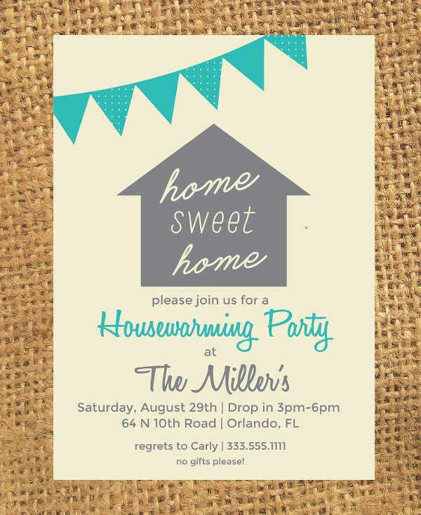 Customizable Housewarming Invitation Template