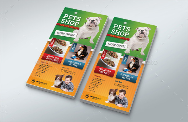 Modern Pet Shop Flyer Template