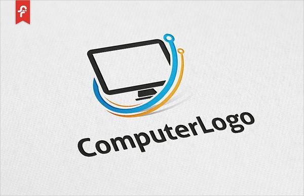 Customizable Computer Logo Template