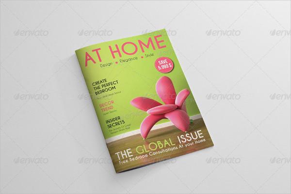 Decorative Interior Magazine Template