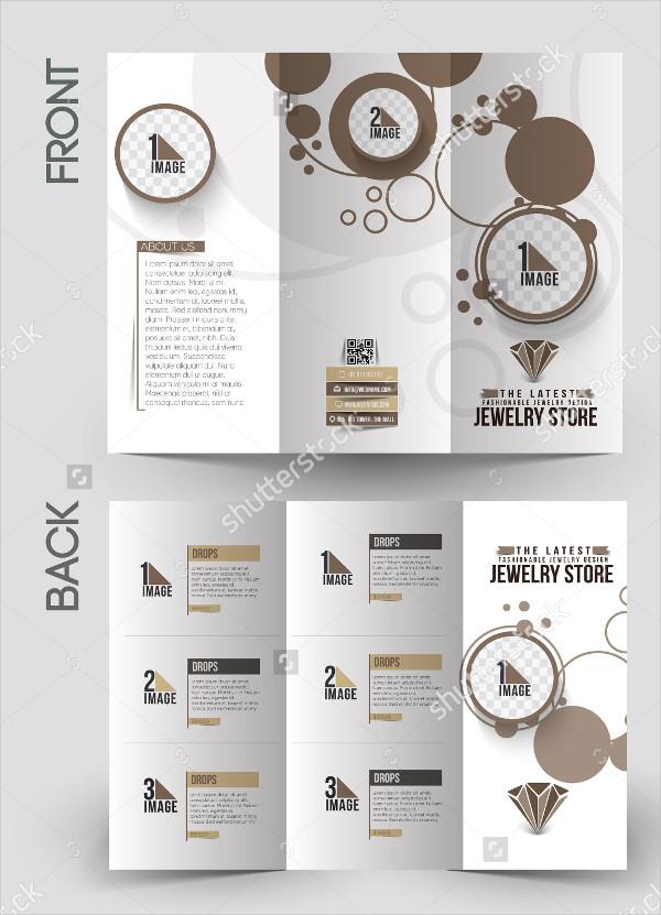 Decorative Jewelry Design Brochure