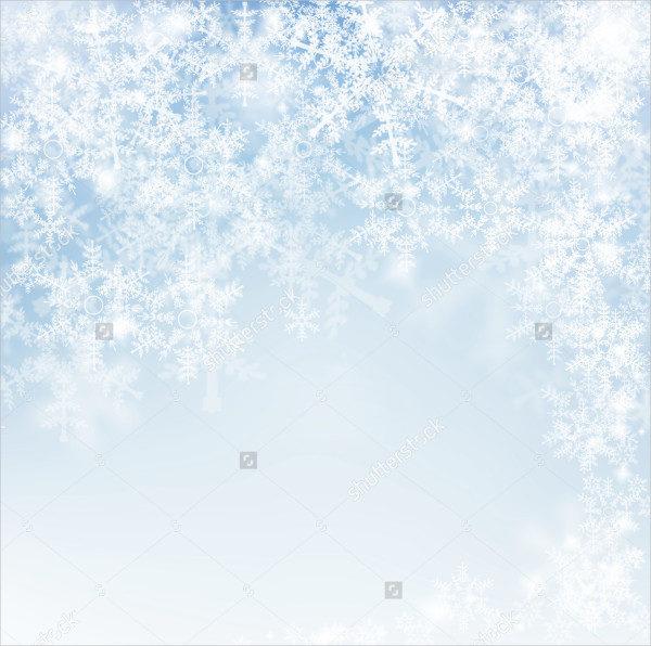 Decorative Snowflake Texture