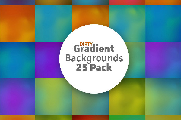 25 Dirty Gradient Background Pack