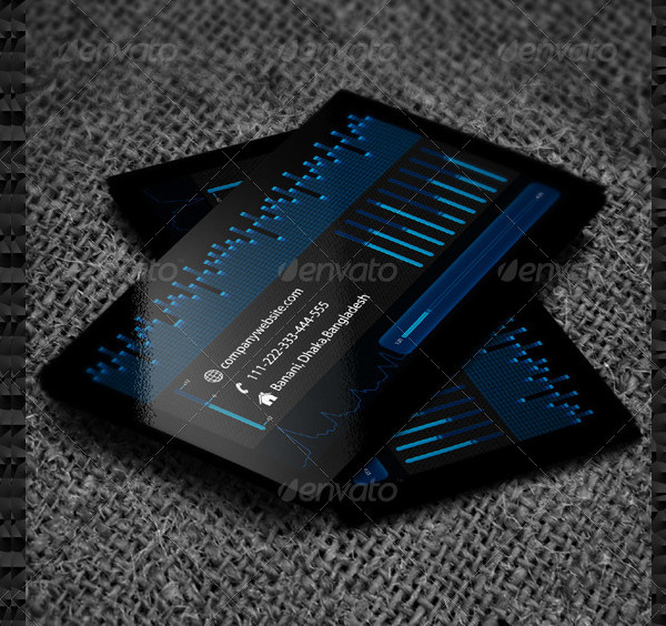 DJ Music Company Business Card Template