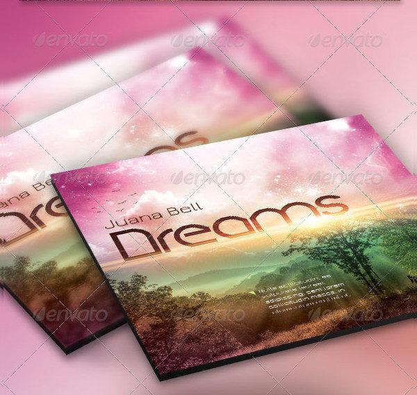 Dreams CD Artwork Template