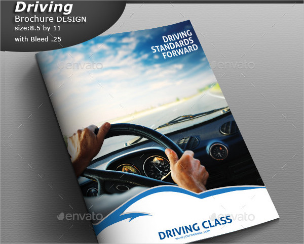 Drive and Track Car Design Brochure