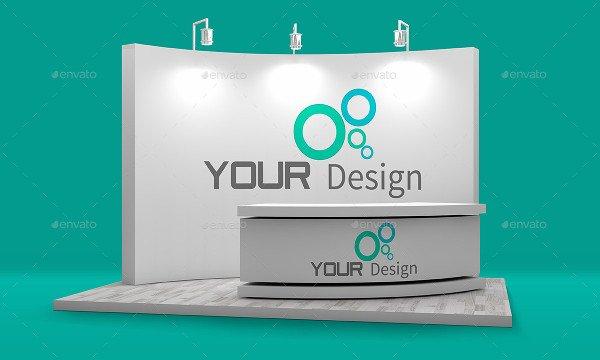 Editable Booth Mockup