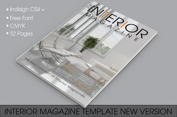New Version Interior Magazine Template
