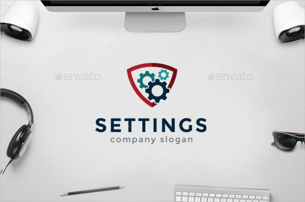 Electric Tool Logo Template