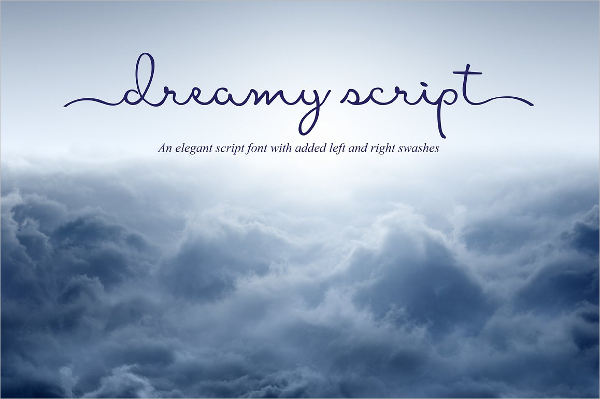 Elegant Dreamy Logo Script Font