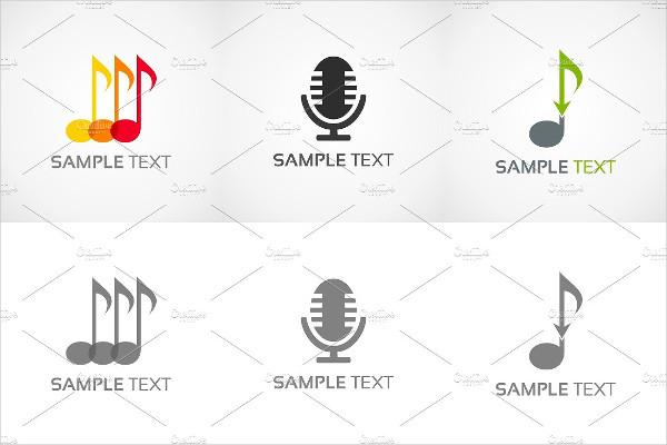Elegant Music Logos