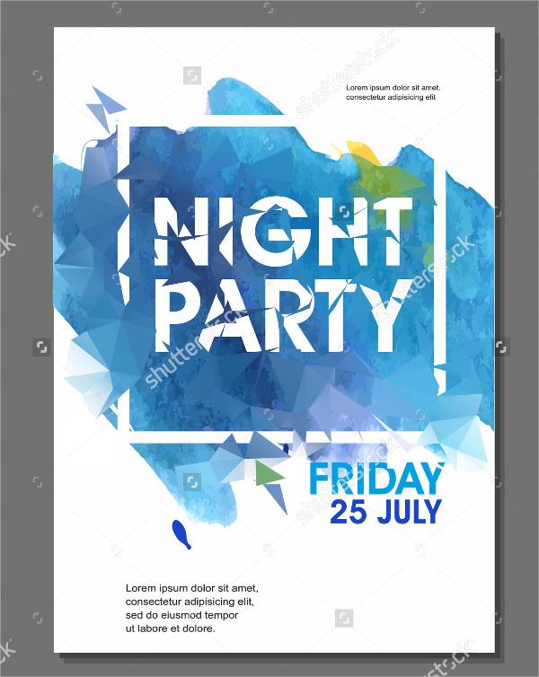 Summer Night Promotion Flyer