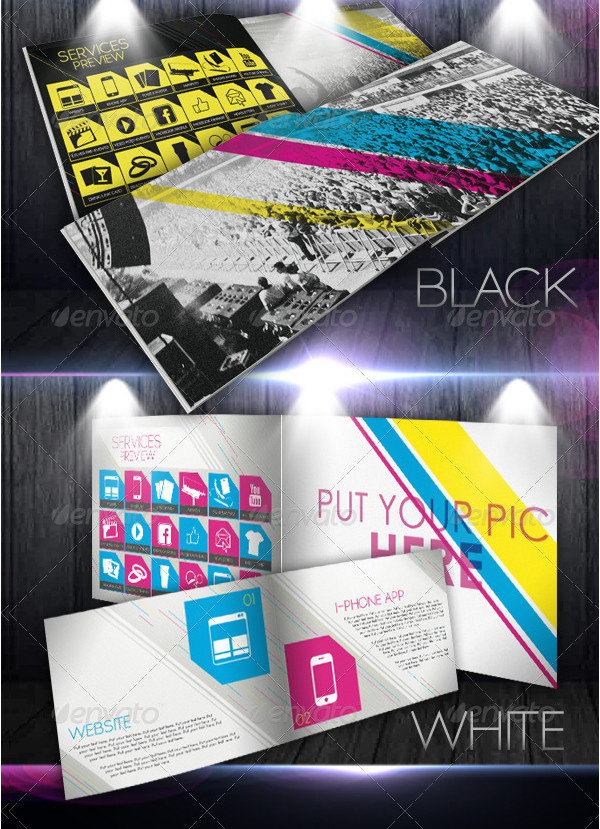 Event & Marketing Portfolio Brochure