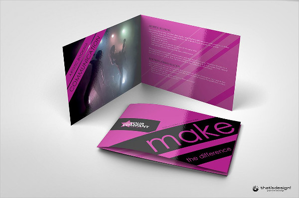 Event and Artistic Brochure Template