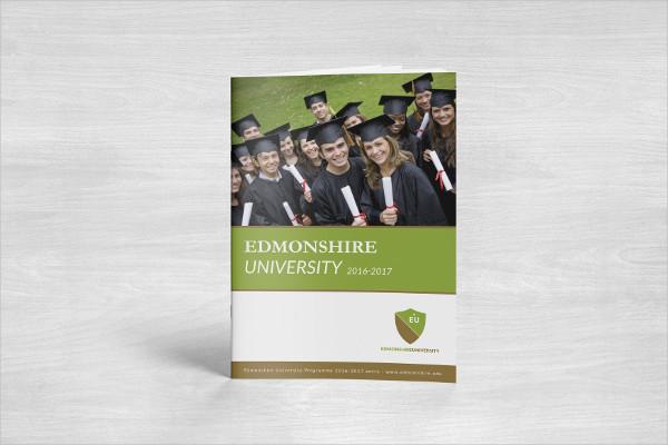 University InDesign Brochure Template