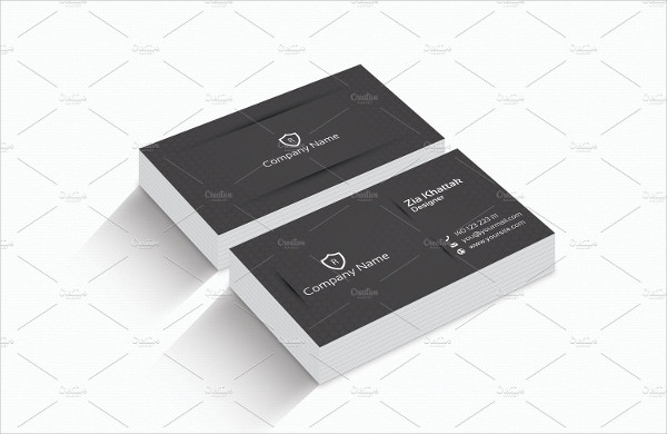 Corporate Classic Business Cards