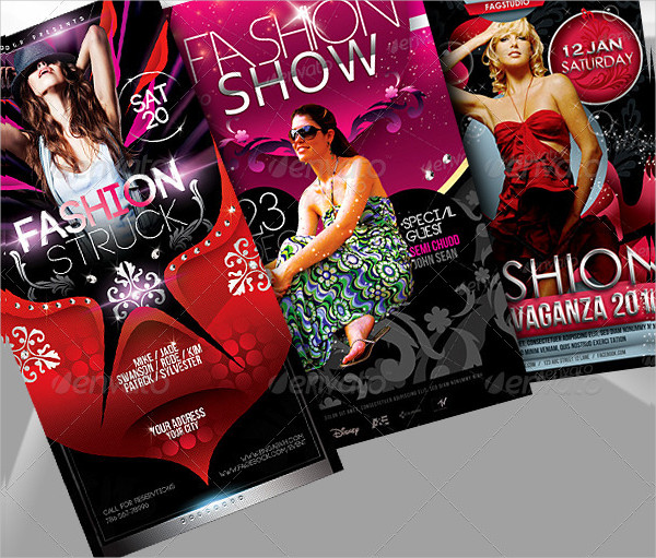 Fashion Fiesta Flyers Bundle