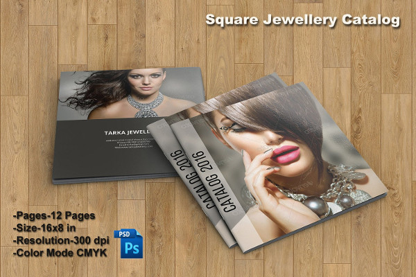 Fashion Jewelry Square Brochure