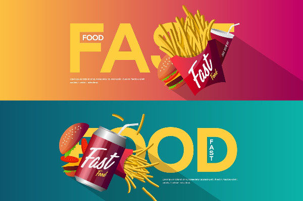 Fast Food Restaurant Creative Banner