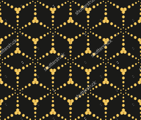 Seamless Fence Artistic Pattern