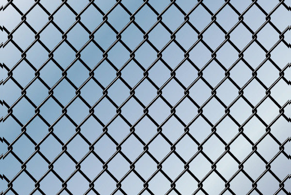 Chain Link Seamless Background Pattern