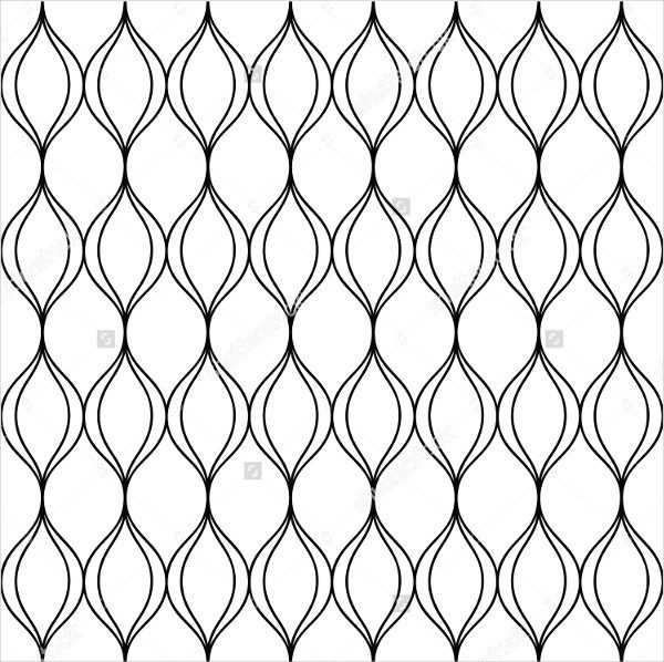 Fence Outline Pattern