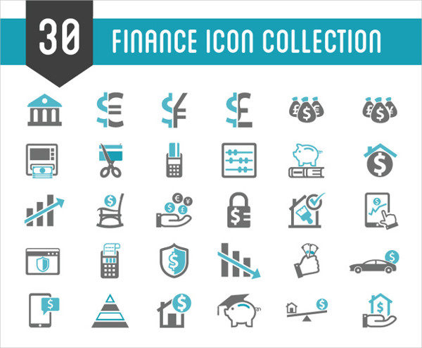 Finance Icon Collection Free Download