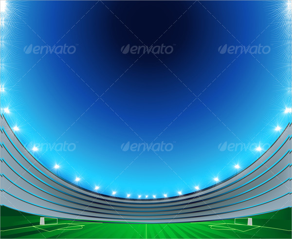 Football Goal Background