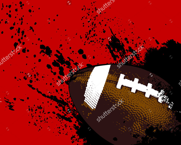 Football Grunge Background