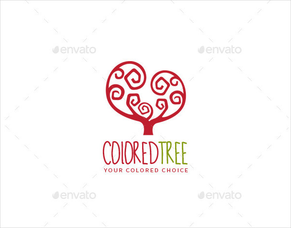 Forest Colorful Logo Template