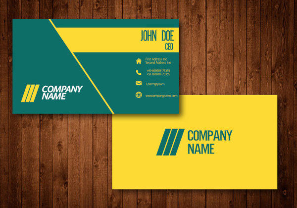 Free Fancy Design Business Card