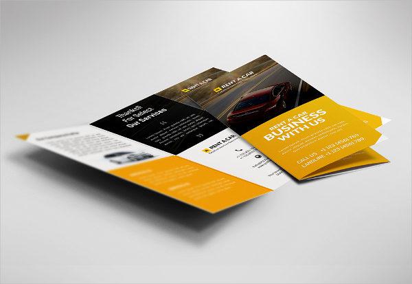 Free Car Dealer & Services Trifold Brochure