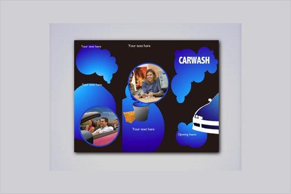 Free Car Wash Brochure Template