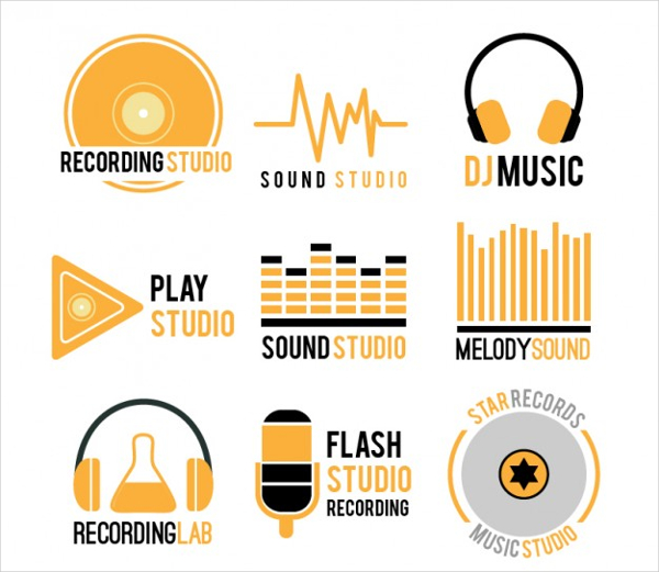 Free Collection of Music Logos