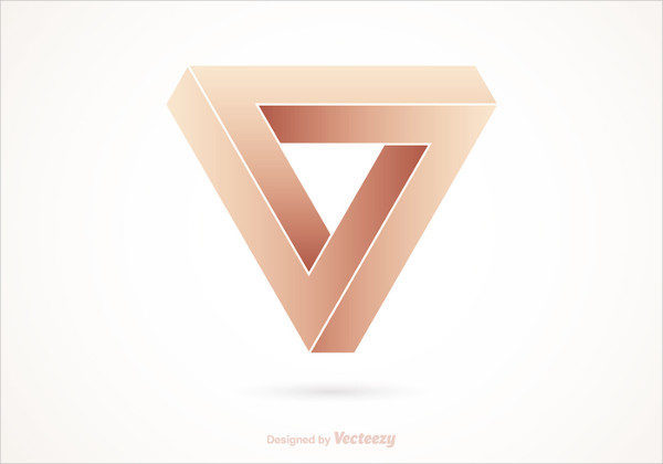 Free Impossible Triangle Vector Logo