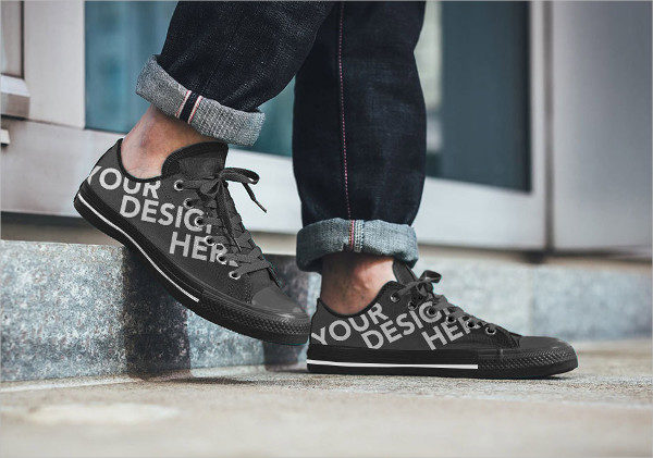 Free Shoe Artworks Mockup
