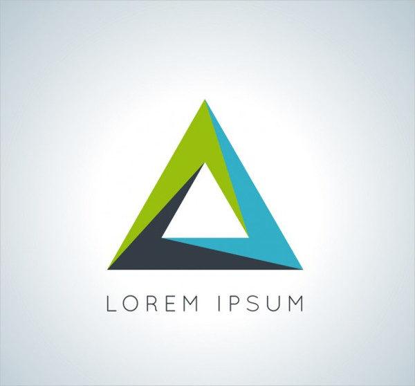 Free Triangular Logo Template