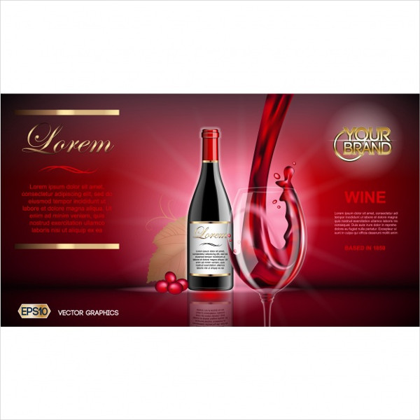 Free Winery Brochure Template